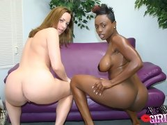 This cute babe turned to be black lesbian black lesbian porn
